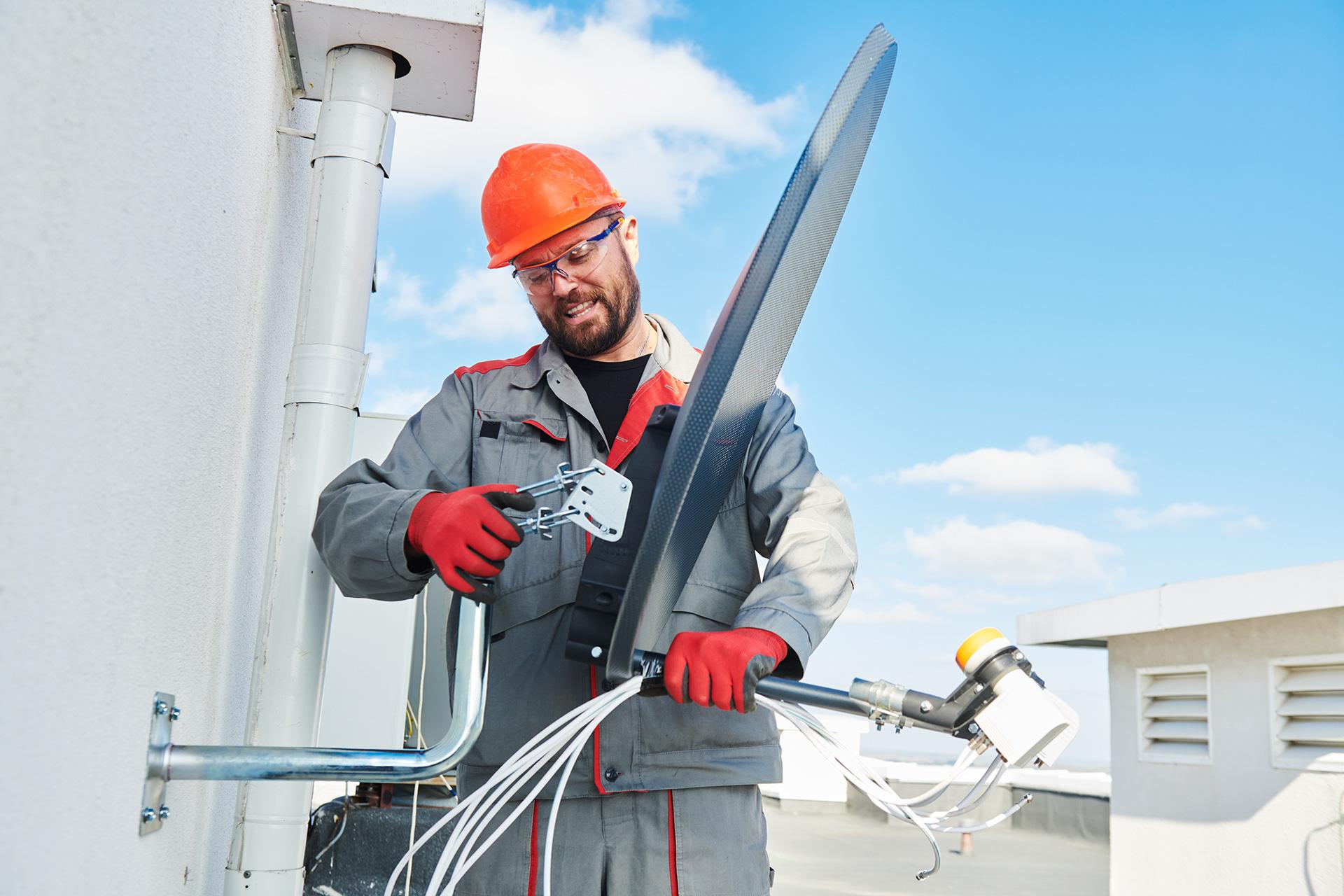 installation av satellit antenn
